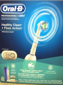 photo of electric toothbrush