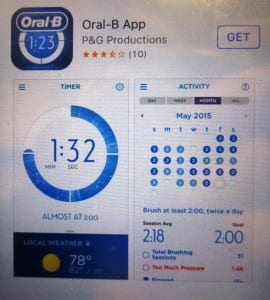 example of oral b app