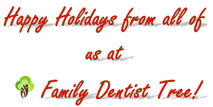 Happy holidays from family dentist tree