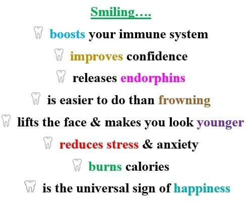 what smiling does