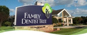 family dentist tree front
